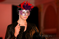 Model Emma Appleton wears Hobbs for the Oxford Fashion Week Cosmopolitan Show at The Randolph Hotel Oxford UK